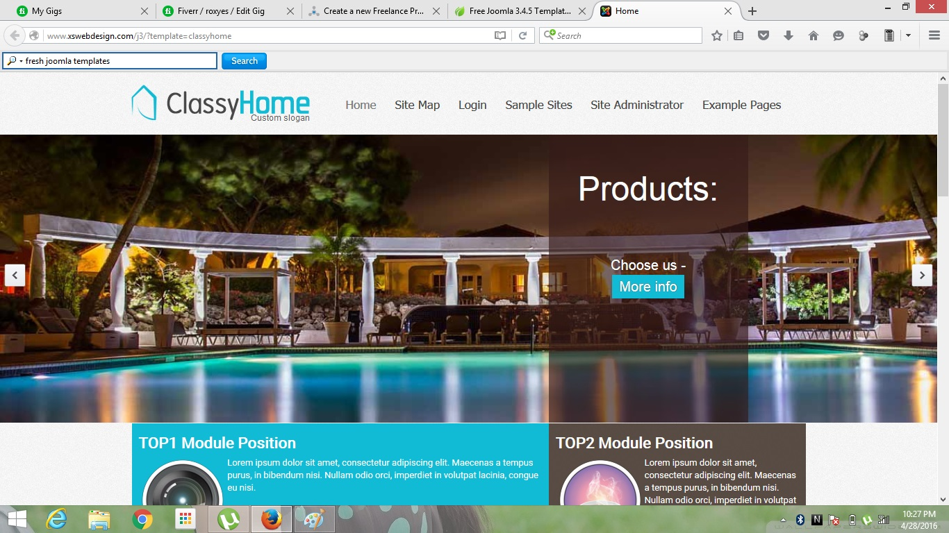 design a Creative and Eye catching webpage