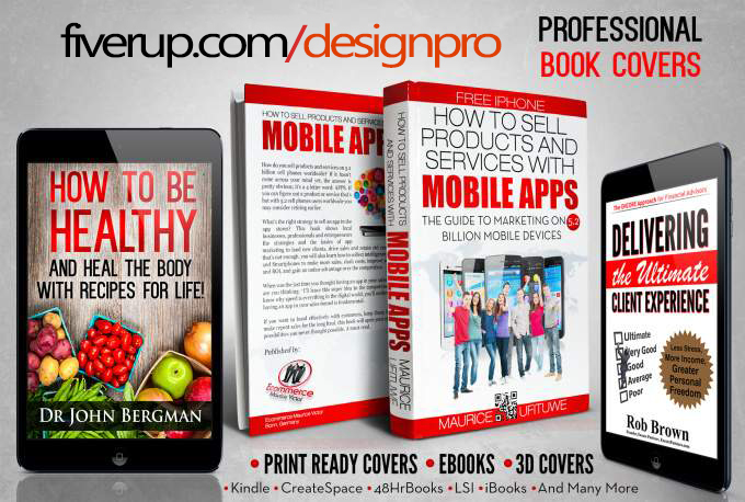 design OUTSTANDING Ecover or Kindle cover