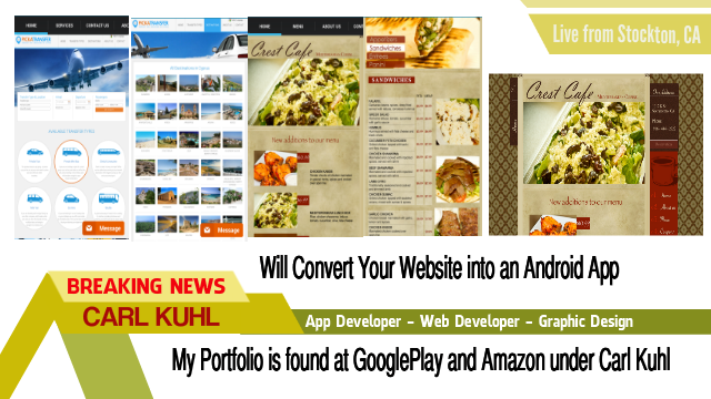 create an Amazing Android App for your Business plus option of IOS app too