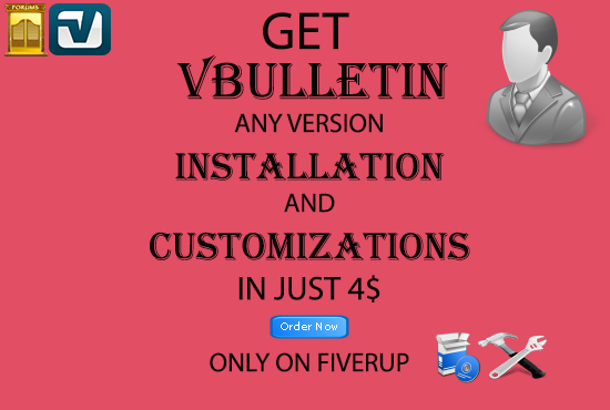 install Vbulletin Forum and customize it