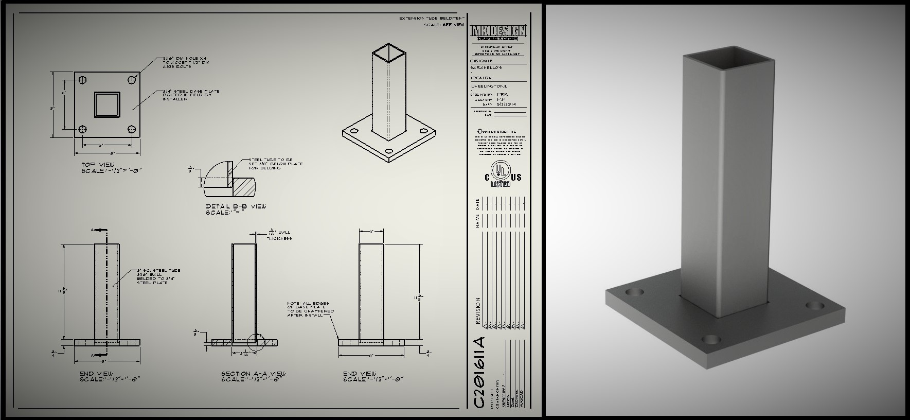 create 3D models from your 2D drawings