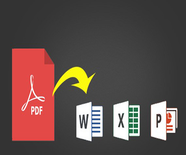 convert PDF to Word, Excel and PowerPoint