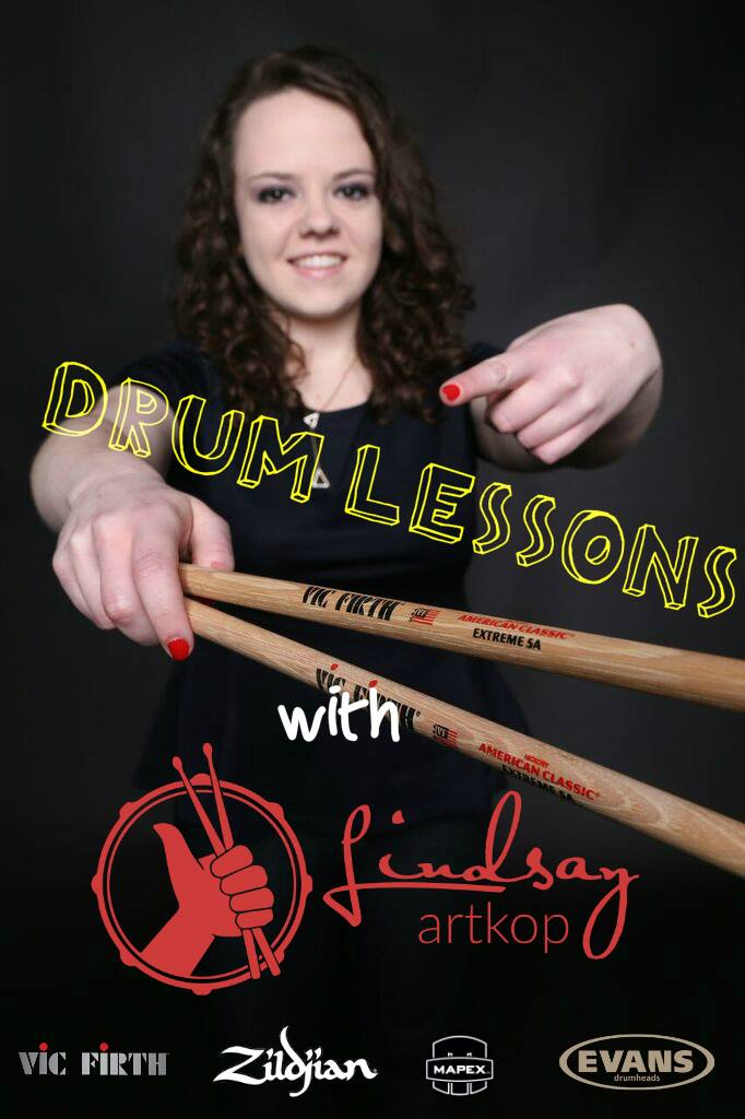 Teach You How To Play Drums with SKYPE Drum Lessons