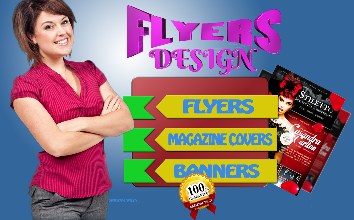 DESIGN high Quality BANNER and FLYERS