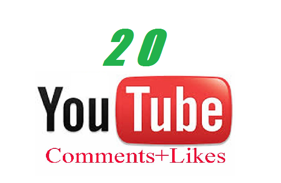 provide 20 REAL Youtube Comments