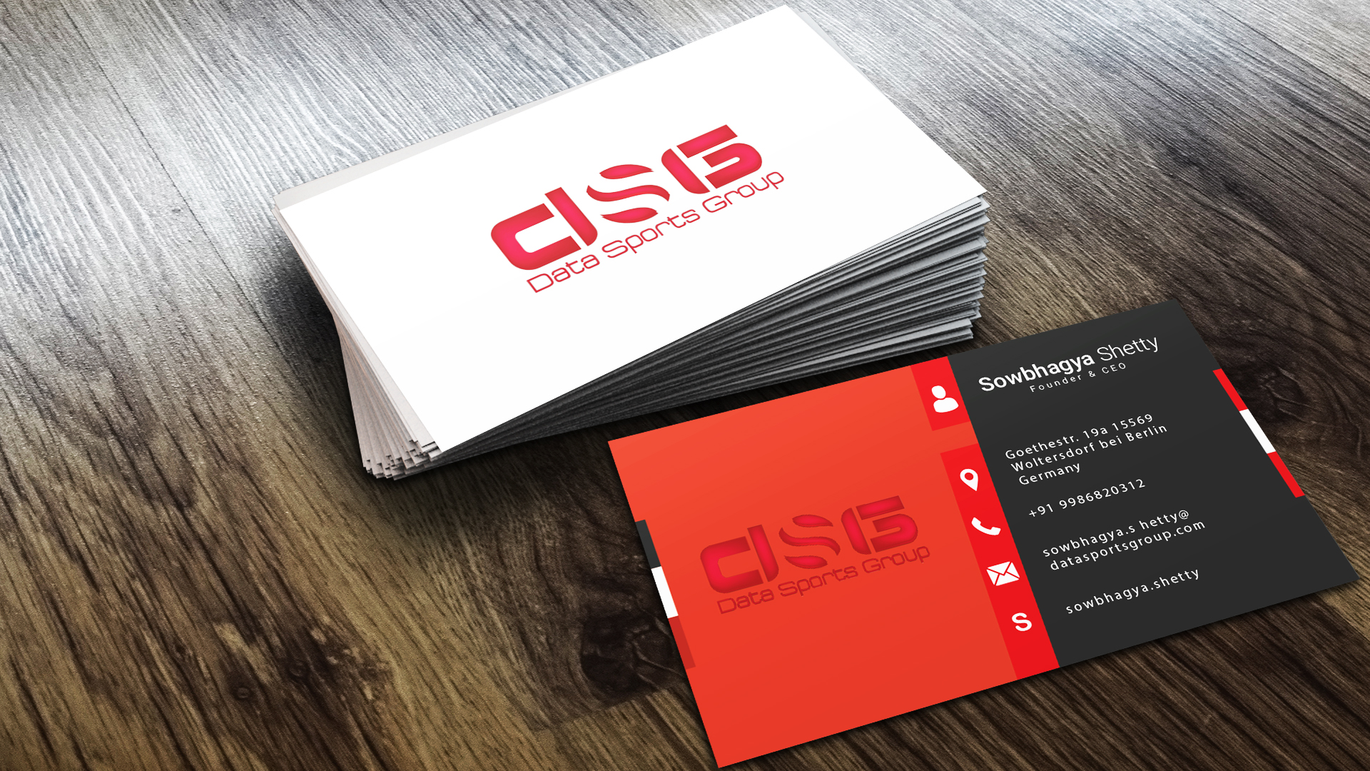 do business card design print ready