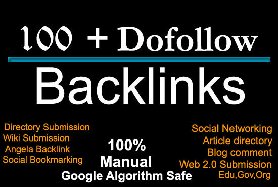 provide 100 more high PR backlinks