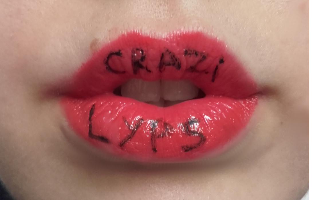 write your message on my lips