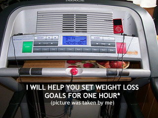 help you set weight loss goals for one hour