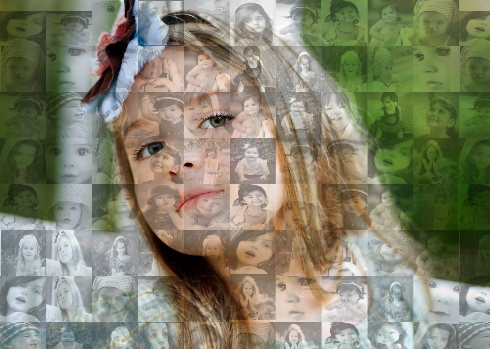 Create A Mosaic Photo Collage for your picuture