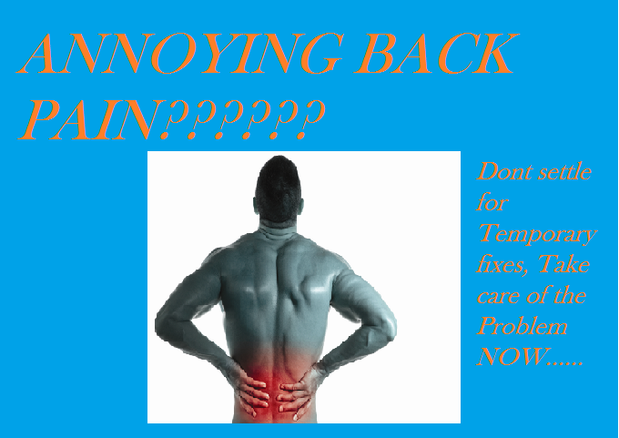 Send 5 Back pain Exercise Corrections