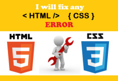 solve HTML, css issues