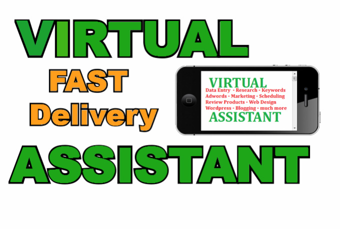 be Your Dedicated Personal Virtual Assistant, 3 hours