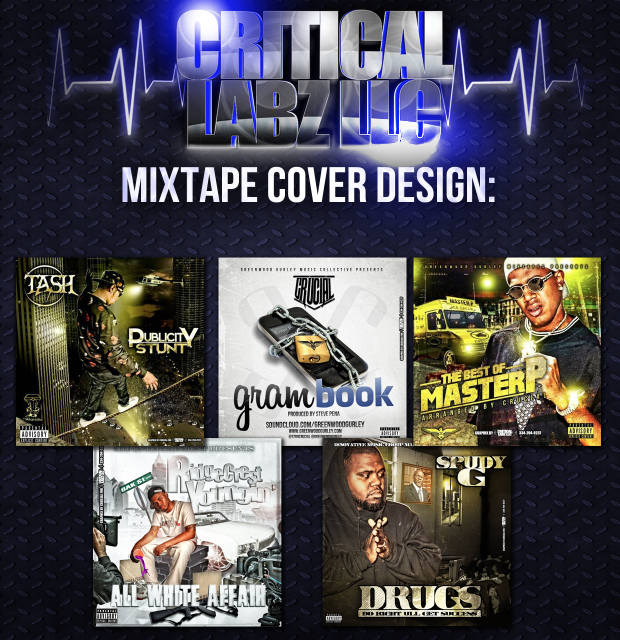 Hook-Up your CD Cover or Flyer, High Quality, fast turnaround