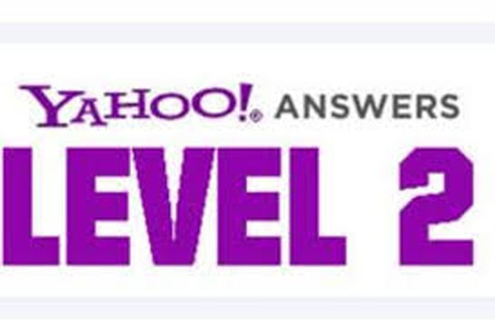 provide 15 Yahoo answers With Your links from My Level 2 Yahoo answers Accounts