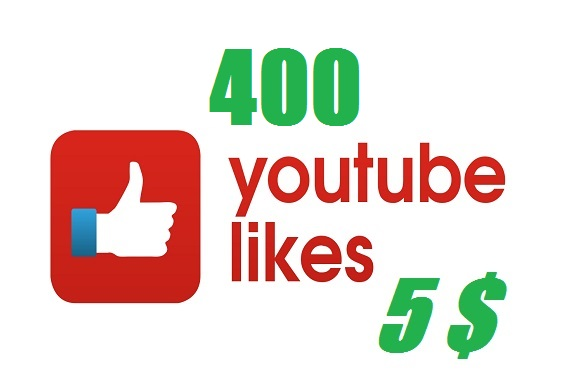 provide 400 youtube likes