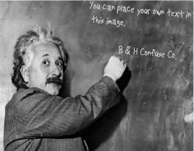 make Einstein write your 3 message or logo or slogan on Blackboard for 5 Dollars for $5