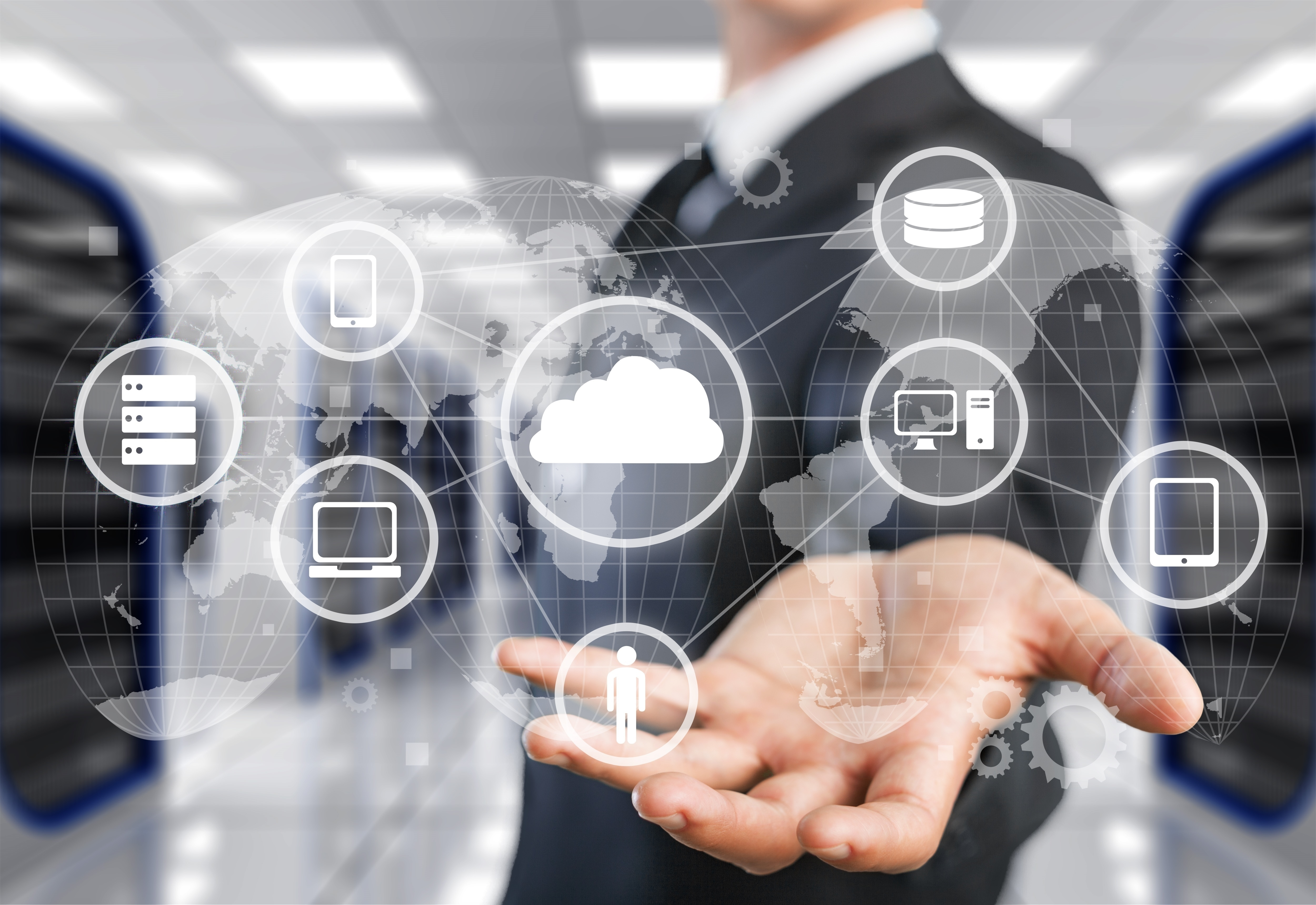 Create a professional PowerPoint presentation about Cloud Computing in a short time.