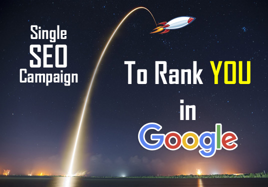 rank you in Google with 1 ALL-IN-ONE SEO Campaign for website and youtube