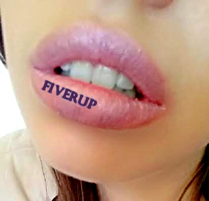write anything on my lips for you or be your human billboard and take a picture of it