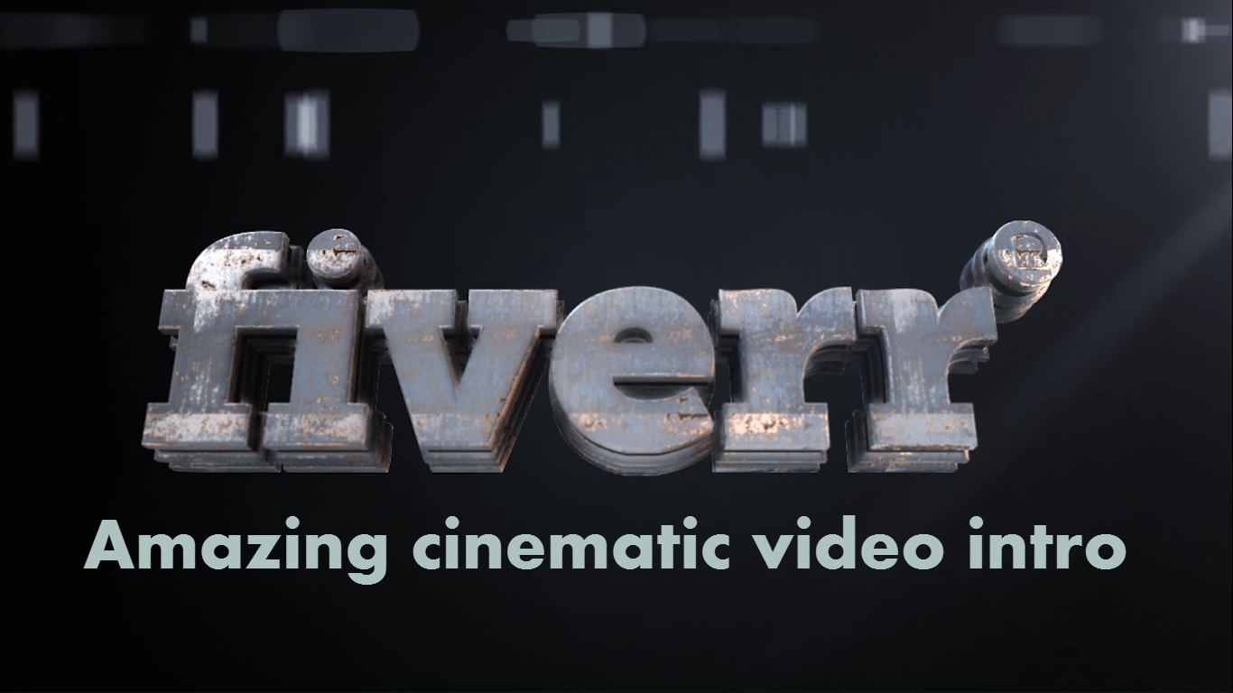 create an amazing cinematic video intro