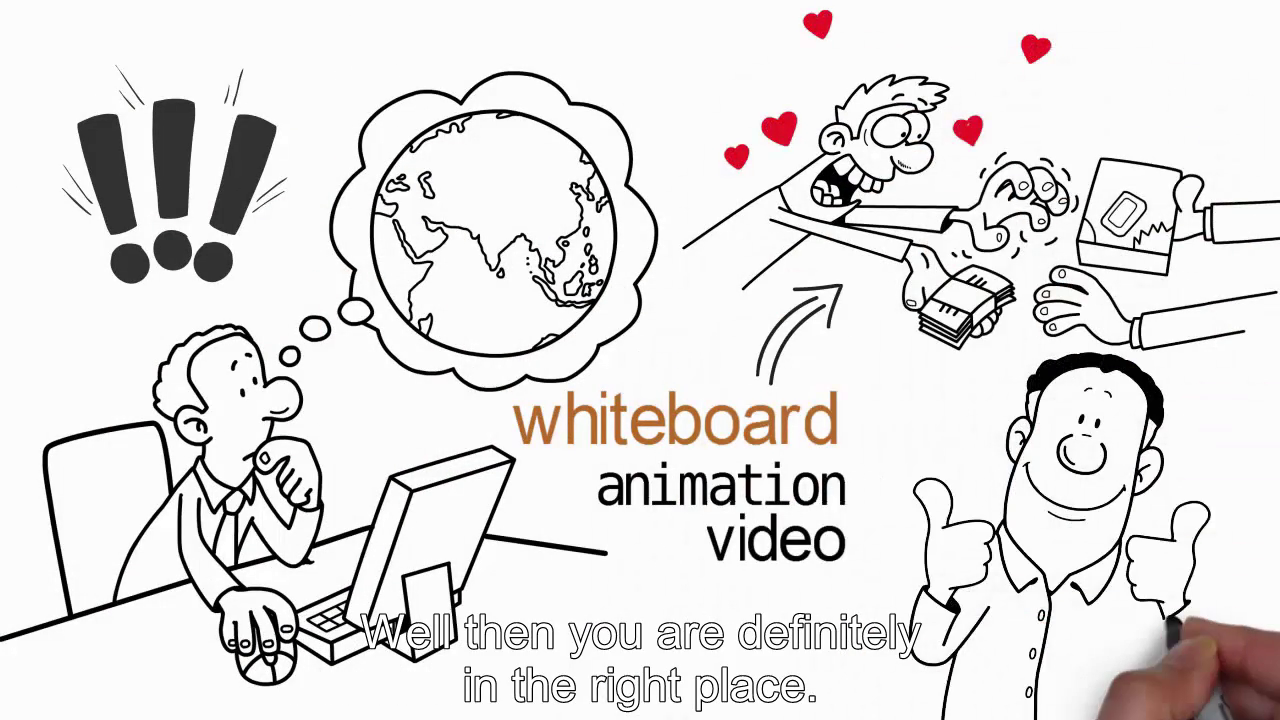create Amazing Whiteboard Animation Video in 24 Hours