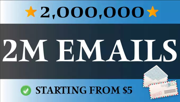give 2 Million USA Email id list 2016