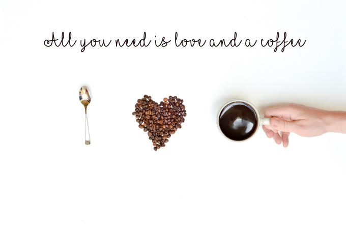 give you 50 pictures with quotes about coffee