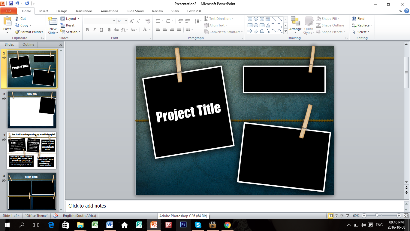 design a professional PowerPoint presentation