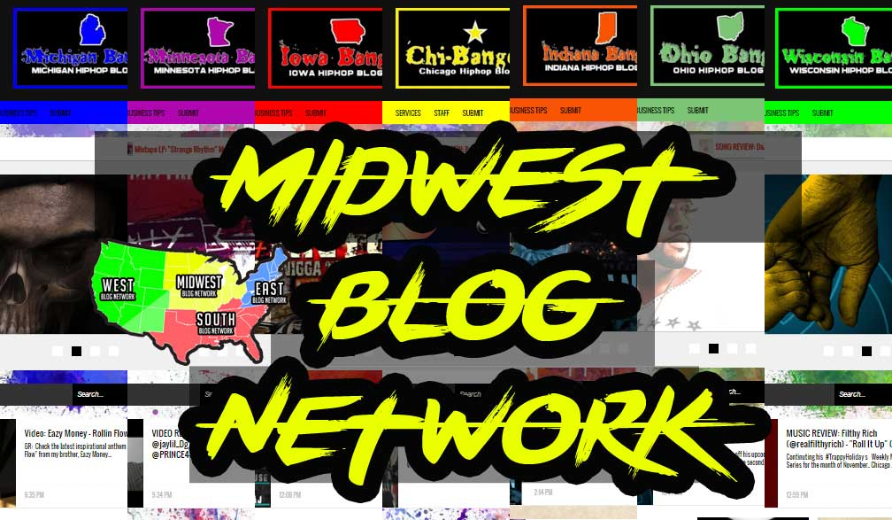 post your Hiphop music to 3 Midwest blogs