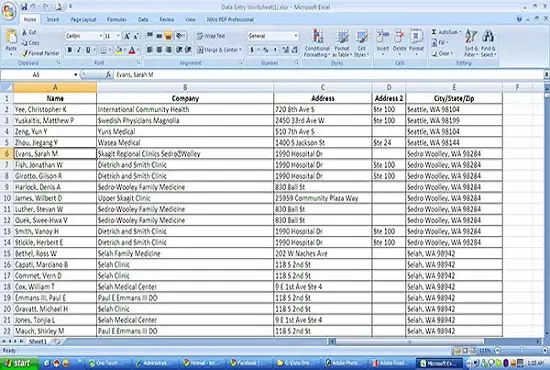 do data mining and data entry.