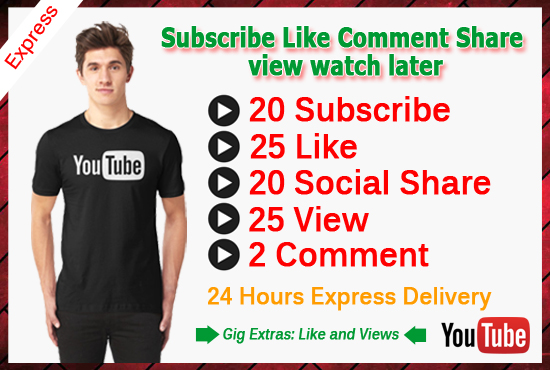 do view,like,comment subscribe your youtube videos