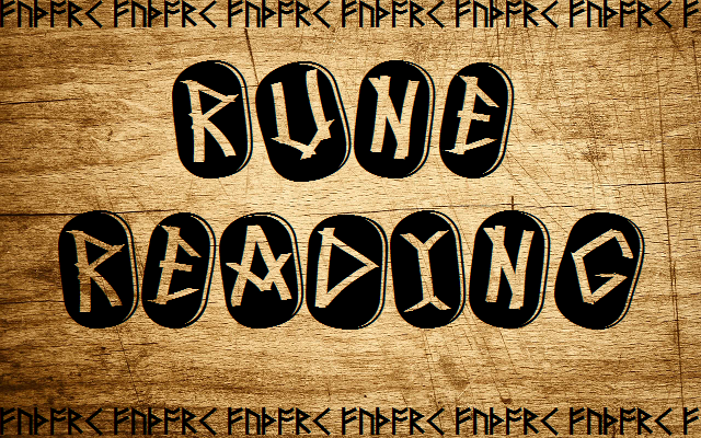 give you advice through a custom rune reading