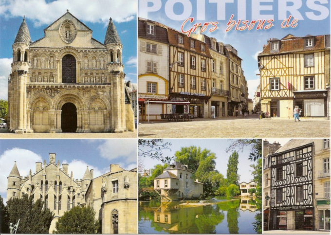 send you a postcard from Poitiers, France