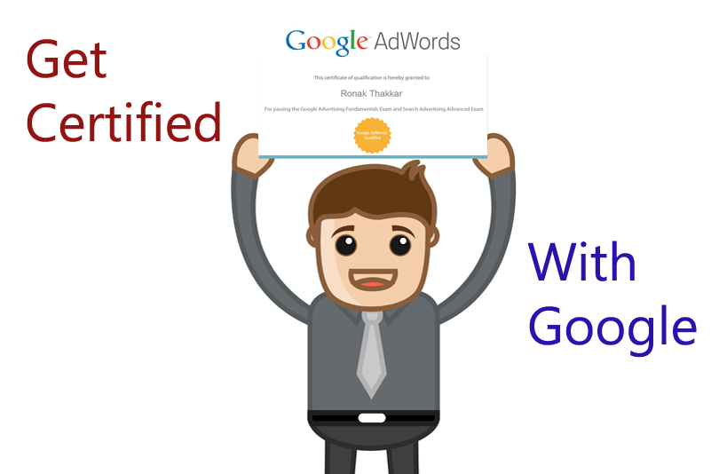 get you Google AdWords Certified