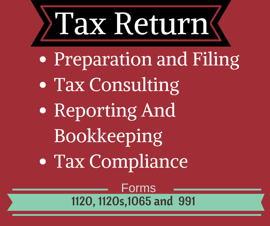 prepare USA Personal and Business Tax Return