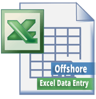 do data entry in excel