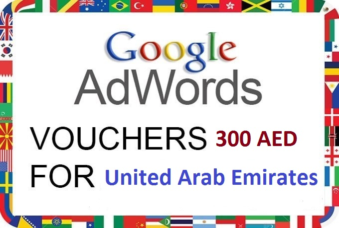 give you 1x 300 AED google Adwords coupon for new accounts