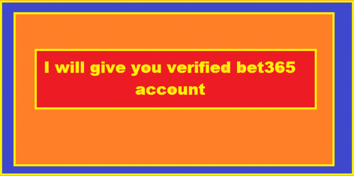 give you verified bet365 account with skrill.