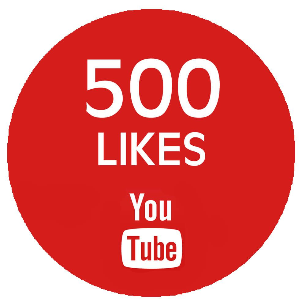 give you 500 YouTube Video Likes
