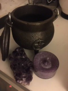 cast an anti-anxiety candle spell for you