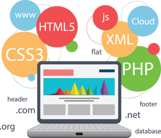 create websites with PHP or JEE using several framworks