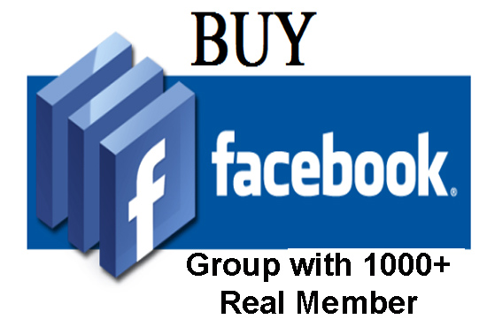 sell my Facebook group with 1000 real member