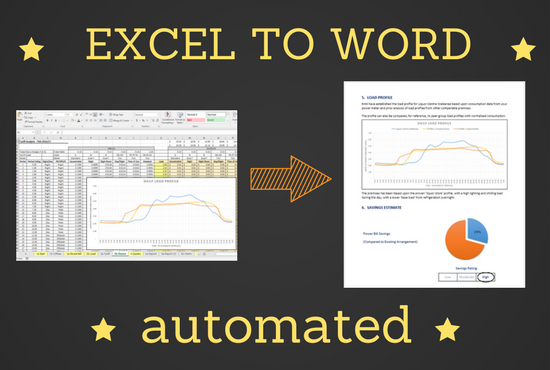 automate your repetitive Excel to Word copy/paste