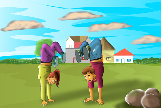 Illustrate Children illustration