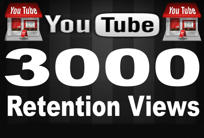give 3,000 youtube views