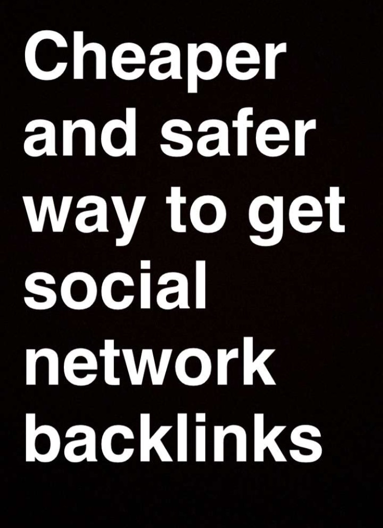 Give 200 social network backlinks for your url