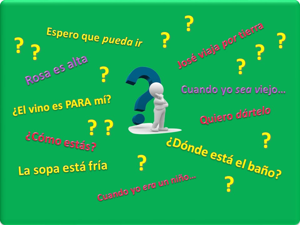 answer your Spanish grammar questions