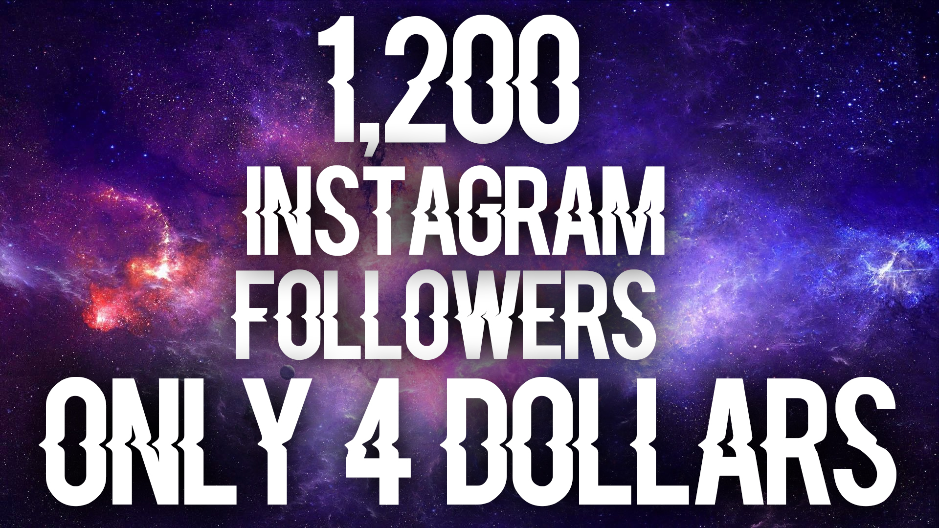give you 1,200 insta. followers