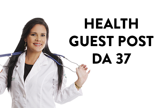publish HEALTH guest post DA 37 do follow